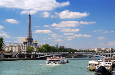 Cruise on the River Seine, Eiffel Tower, Paris